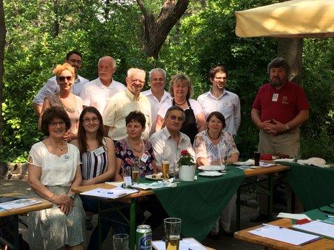 21. MbJ Alumni találkozó a Margitszigeten 2017.05.22.